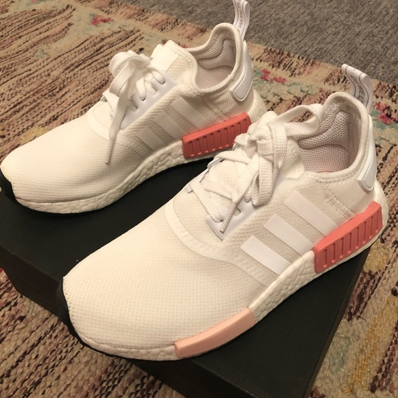 Adidas Shoes Womens Nmd White Rose Poshmark